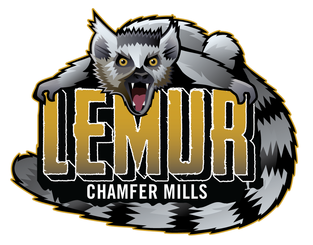 3 Flute Chamfer Mills