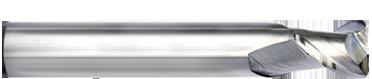 2 Flute Silverback Radius