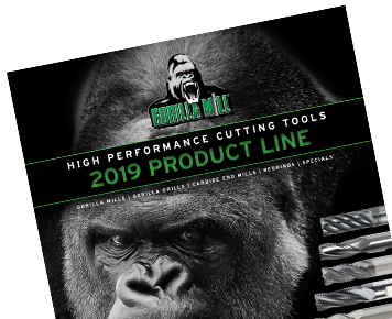 2019 GorillaMill catalog cover
