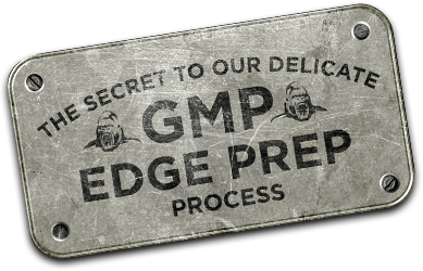gmp edge prep badge