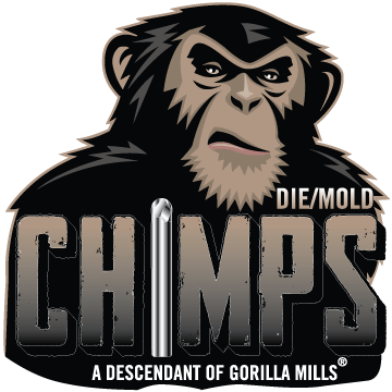 gorilla mill chimps logo