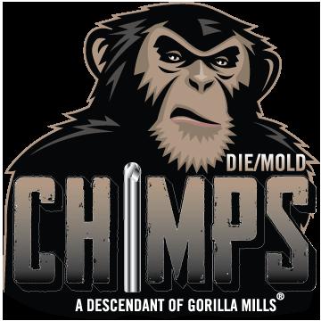 gorilla mill chimps logo
