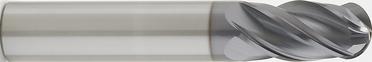 3mm Diameter Ballnose End (4FGMM)