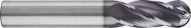 """1/64"""" Diameter Ballnose End (4FPI)"""