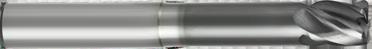 """1/4"""" Diameter Radius End (5FGMNRI)"""