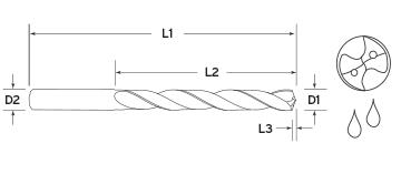5X Coolant Regular Length Diagram