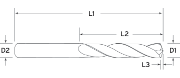 5X Solid Regular Length Diagram