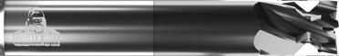5 Flute Rail Cutters