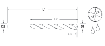 7X Coolant Long Length Diagram