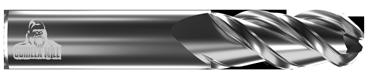 "1/8"" Diameter Ballnose End (3FSI)"